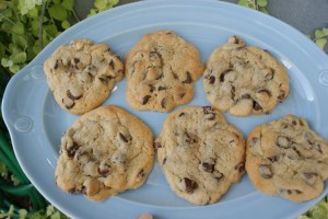 auntie T's famous chocolate chip cookies