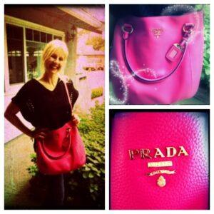 big tiff got a new purse!!!!