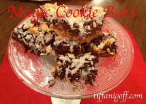 Fancy Fudge and Magic Cookie Bars