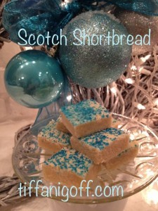 My grandma's famous shortbread recipe