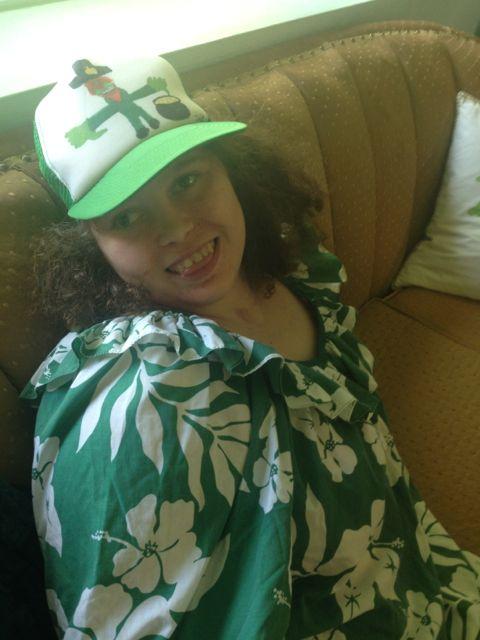 Tiara, my lucky leprechuan…