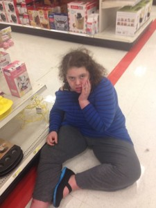 Checking emails in Target…