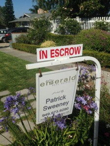 We are in escrow!